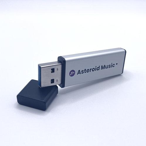 Asteroid Music USB 1,041曲(mp3、ハイレゾ44.1KHz)