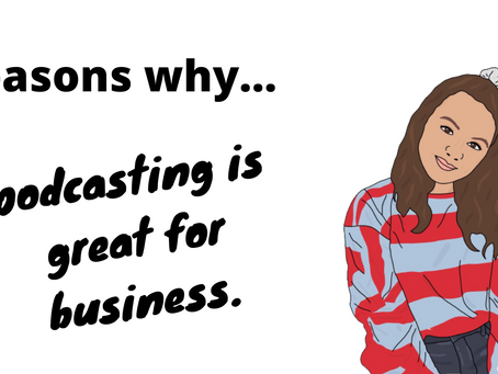 Reasons Why... podcasting is great for business