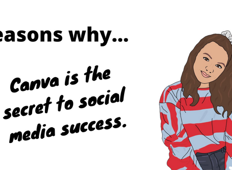 Reasons Why... Canva is the secret to social media success