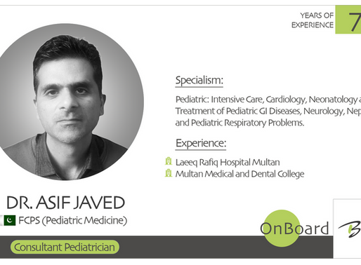 OnBoard | Dr. Asif Javed | Pediatrician.