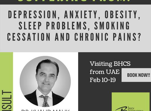 Dr. Khalid Malik | Visiting BHCS from UAE | Feb 10-19