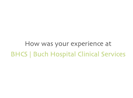 BHCS | Patient Reviews