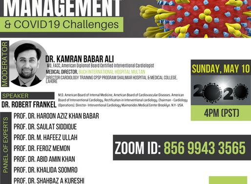 CV DISEASE MANAGEMENT & COVID19 Challenges