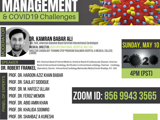 CV DISEASE MANAGEMENT & COVID19 Challenges
