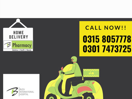 Buch Pharmacy | Delivering Medicine at Your Doorstep