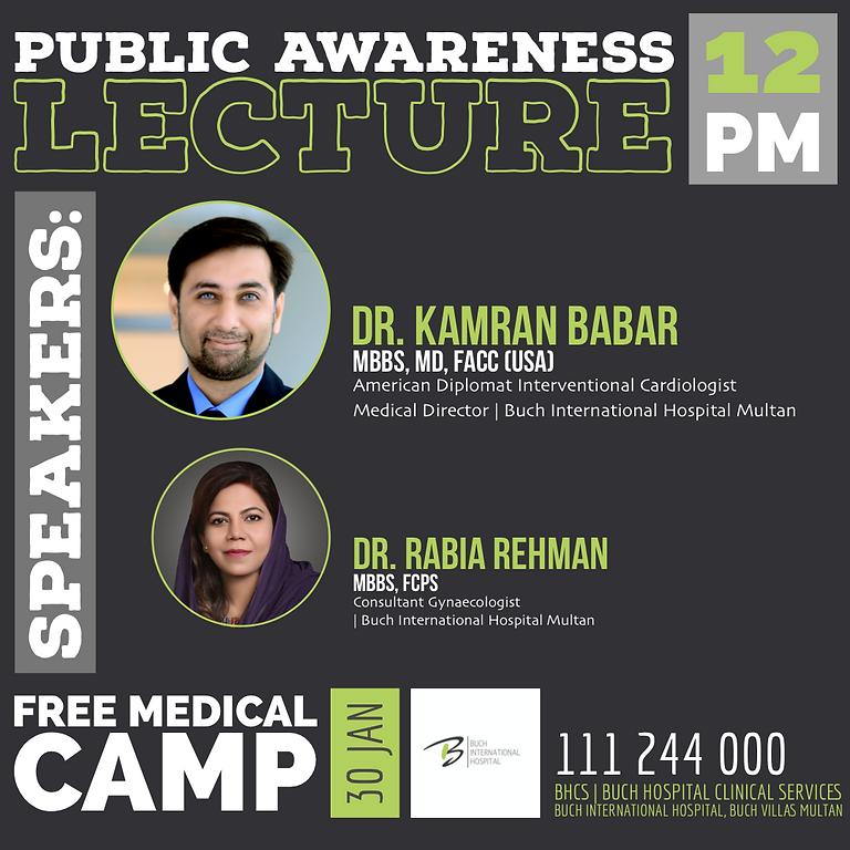 Public Awareness Lecture | BHCS