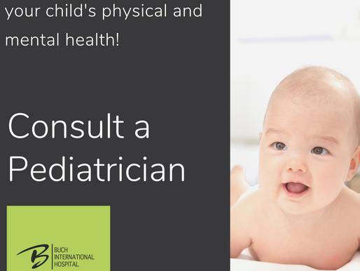 Consult A Pediatrician
