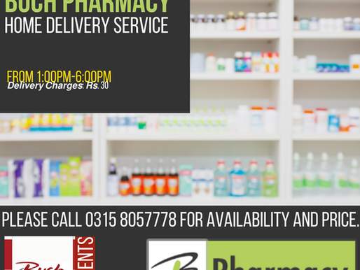 ​​Buch Pharmacy | Home Delivery Service