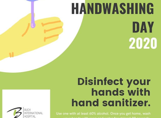 Global Handwashing Day 2020