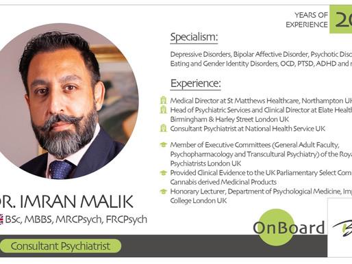 OnBoard | Dr. Imran Malik | Psychiatrist.