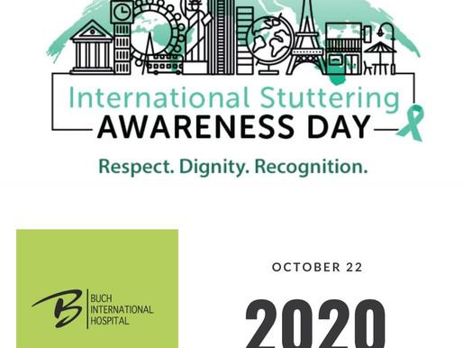 International Stuttering Awareness Day 2020