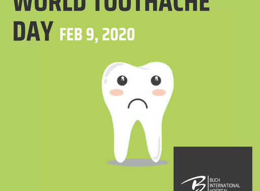 World Toothache Day | Feb 9, 2020