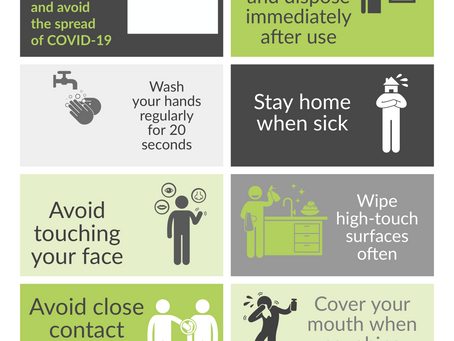 How to Stay Healthy and Avoid the Spread of COVID-19.
