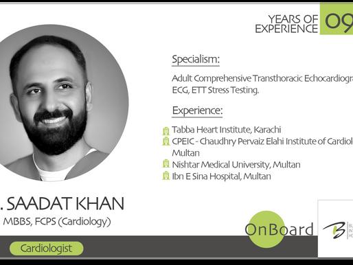 OnBoard | Dr. Saadat Khan | Cardiologist.