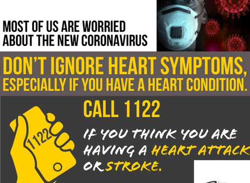 Coronavirus and Your Heart  Don't ignore heart symptoms, especially if you have a heart condition.