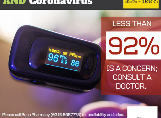 Pulse Oximeter and Coronavirus