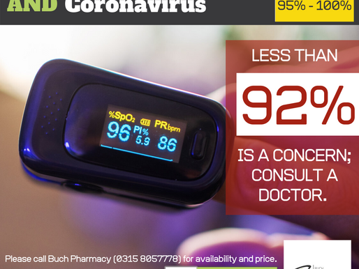Pulse Oximeter and Coronavirus