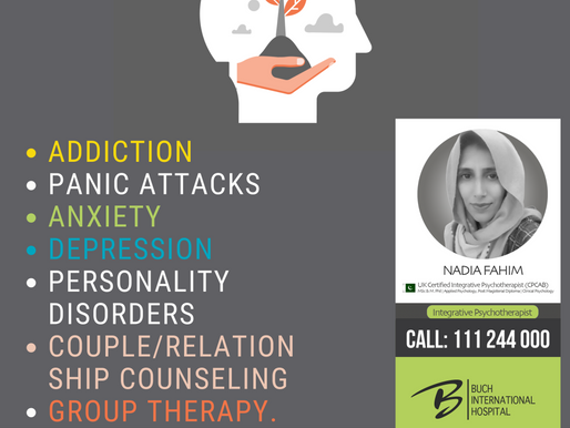 Nadia Fahim | Integrative Psychotherapist and Clinical Psychologist | BIH