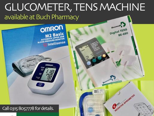 Digital BP Apparatus | Glucometer | Tens Machine