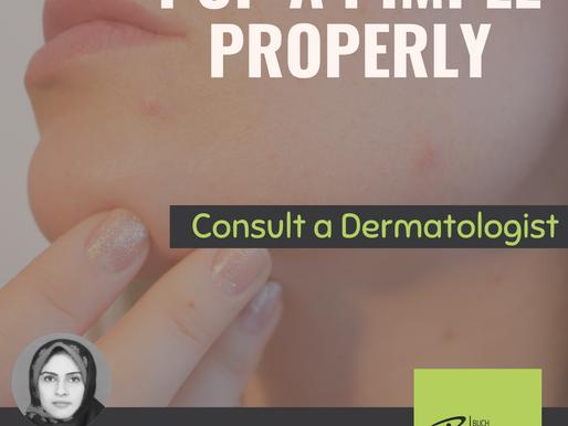 Consult a Dermatologist