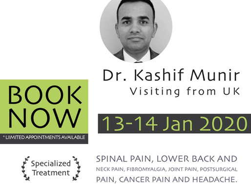 Pain Management Specialist | Coming From UK