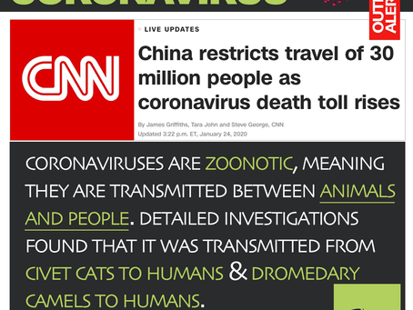 Outbreak Alert   Coronavirus