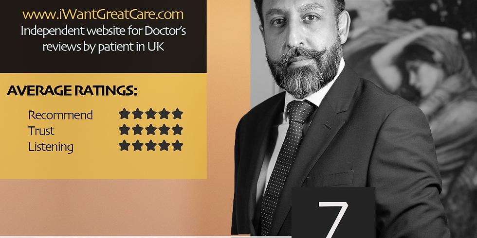 Dr. Imran Malik | Consultant Psychiatrist Visiting BHCS from UK on 7th Mar 2020