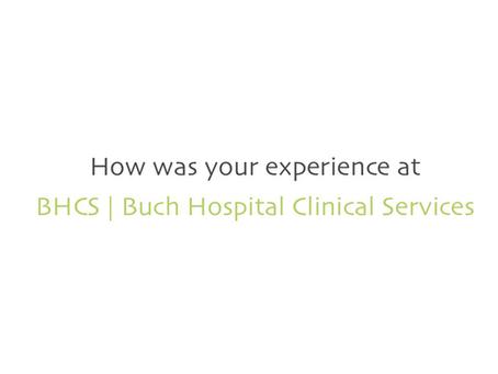 BHCS | Patient Reviews