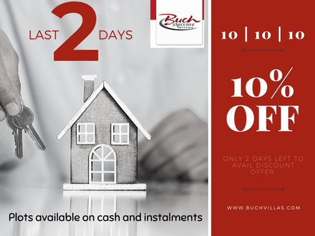 Last 2 Days for 10% Discount