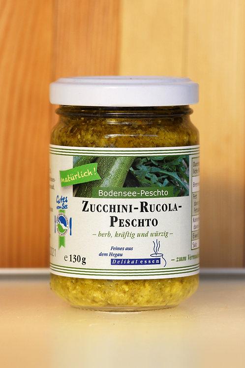 Zucchini-Rucola-Peschto von Delikat essen
