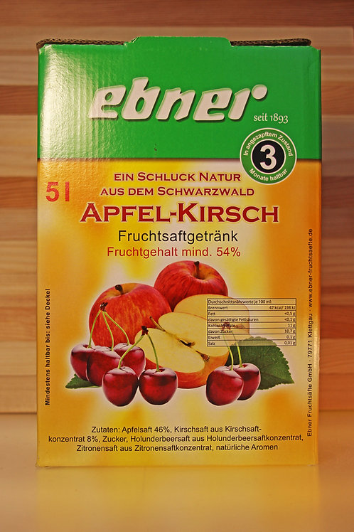 ebner Apfel-Apfel-Kirschsaft Bag in Box