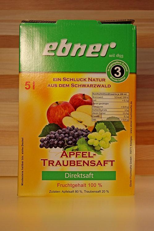 ebner Apfel-Traubensaft Bag in Box