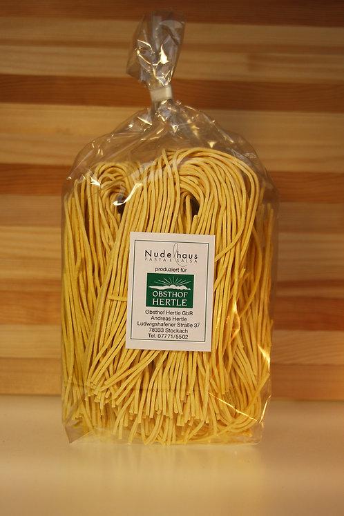 Spaghetti Natur, hergestellt für den Obsthof Hertle