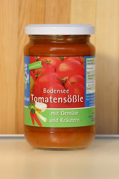 Bodensee Tomatensößle mit Gemüse und Kräutern