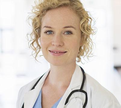 blond Arzt