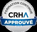 Formation continue approuvée CRHA - Sceau.png