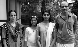 Hari P with Family