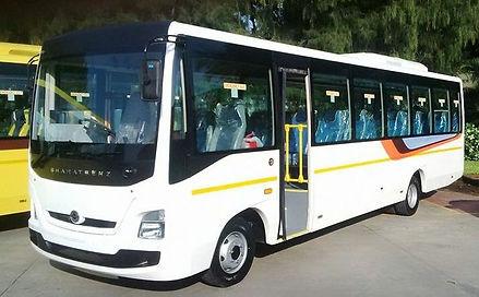 Bharat Benz Bus Rental Hire in Cochin (1