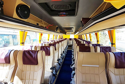 Bharat Benz Bus Rental in Cochin / Kochi / Ernakulam, Bharat Benz Minibus Rental Hire in Cochin, Bha