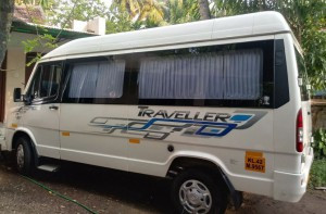 Tempo Traveller for rent in Kochi | Tempo Traveller on rent in Cochin
