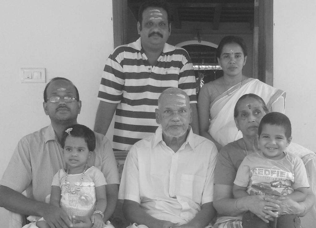 PR Vishnu NMPD & Family