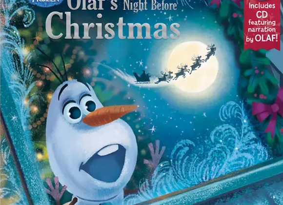 Olaf's Night Before Xmas (with CD)