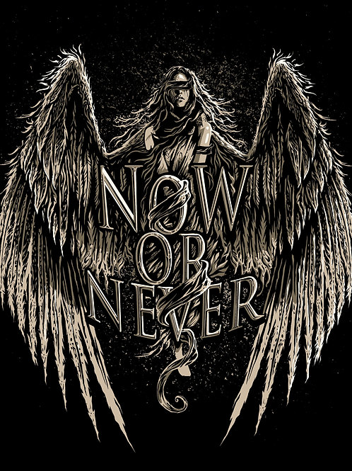 "T-Shirt NOW OR NEVER ""Angel"""