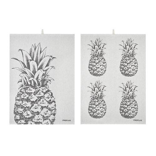 Geschirrtuch Ananas