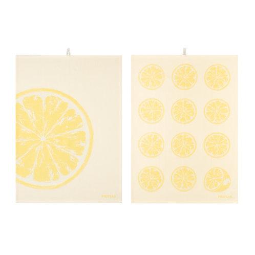 Geschirrtuch Zitrone