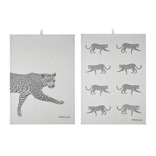 Geschirrtuch Leopard