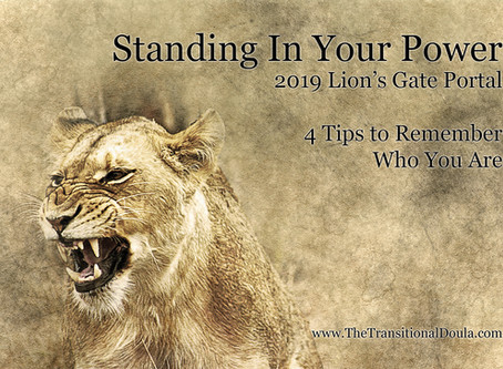 Standing In Your Power: 4 Things to Remember