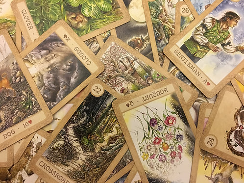 Lenormand Reading - Grand Tableau