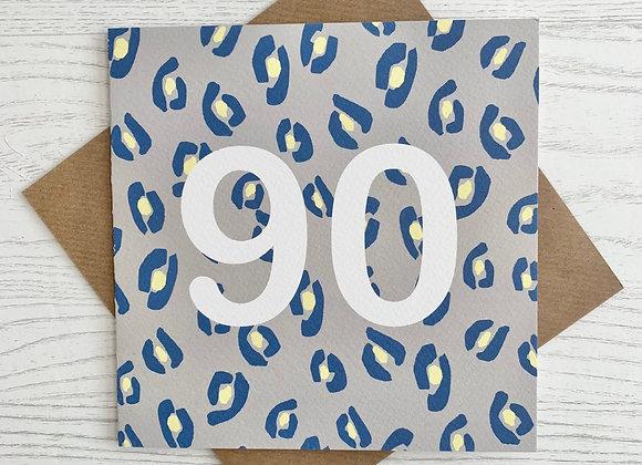 Greeting Card - 90th Birthday Card