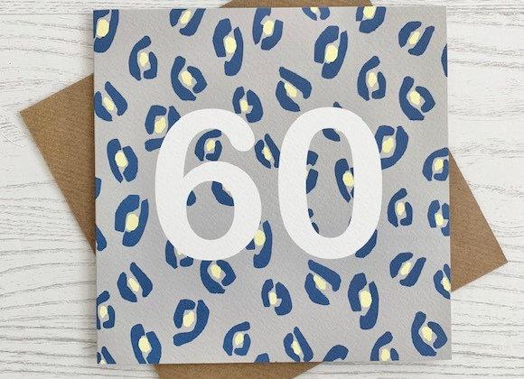 Greeting Card - 60th Birthday Card